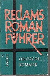 Beer,Johannes (Hsg.)  Reclam Romanführer Band I