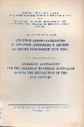 Archangelsky,S.I.  Agrarian Legislation and the Agrarian Movement in England during