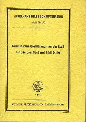 Appelhans & Co. (Hsg.)  Gemeinsame Qualitätsnormen der EWG für Gemüse, Obst und