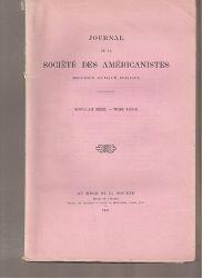 Societe des Americanistes  Journal de la Societe des Americanistes (Reconnue D