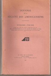 Societe des Americanistes  Journal de la Societe des Americanistes