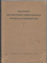 Gessner,Fritz+Volkmar Vareschi  Ergebnisse der deutschen Limnologischen Venezuela-Expedition 1952