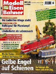 Modelleisenbahner  Modelleisenbahner Heft Nr. 8 / 1997
