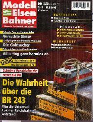 Modelleisenbahner  Modelleisenbahner Heft Nr. 5 / 1998