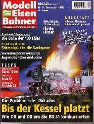 Modelleisenbahner  Modelleisenbahner Nr.12. Dezember 1998