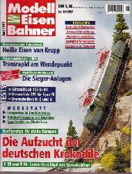 Modelleisenbahner  Modelleisenbahner Nr.6. Juni 1997