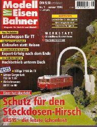 Modelleisenbahner  Modelleisenbahner Januar 1998