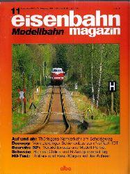 eisenbahn magazin Modellbahn  35.Jahrgang 1997, Heft 11