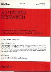 Mutation Research  Mutation Research, Jahr 1989.Volume 219 Heft 1 - 5/6 (5 Hefte)