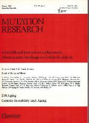 Mutation Research  Mutation Research, Jahr 1990.Volume 237 Heft 1 - 5/6 (4 Hefte)