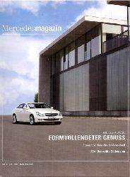 Daimler AG  Mercedesmagazin Nr. 318, 54 .Jahrgang 2008