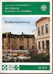 Bundesminister für Raumordnung,Bauwesen  Modellvorhaben Bremen-Ostertor/Remberti