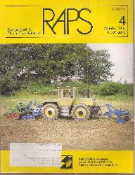 RAPS  RAPS 3.Jahrgang 1985, Hefte 1 bis 4 (4 Hefte)