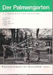Der Palmengarten  28.Jahrgang 1964, Hefte 1 bis 12 (12 Hefte)