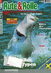 Rute & Rolle  Rute & Rolle Heft Januar 2001 (1 Heft)