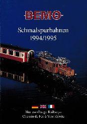 BEMO-Modelleisenbahnen GmbH  Schmalspurbahnen 1994/1995