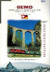 BEMO-Modelleisenbahnen GmbH  Katalog 1998