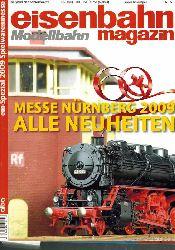 eisenbahn Modellbahn magazin  em-Special Spielwarenmesse 2009