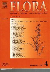 Flora  Flora Volume 200 Jahr 2005 Heft 4 (1 Heft)