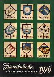 Meyer,Adolf (Hsg.)  Heimatkalender für die Lüneburger Heide 1976
