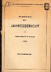 Bundesforschungsanstalt für Kleintierzucht  Jahresbericht für das Geschäftsjahr 1950