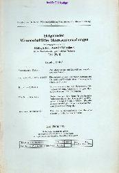 Biologische Anstalt Helgoland (Hsg.)  Helgoländer Wissenschaftliche Meeresuntersuchungen Band 5, Heft 2