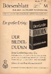 Börsenblatt für den Deutschen Buchhandel  Börsenblatt für den Deutschen Buchhandel 14.Jahrgang Nr. 95 a