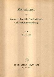 Verein für Forstliche Standortskunde  Mitteilungen Nr. 29. 1981
