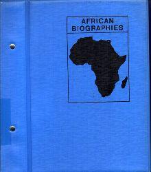 Friedrich-Ebert-Stiftung  African Biographies Algeria - Ethiopia