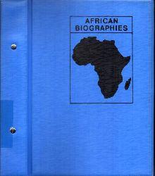Friedrich-Ebert-Stiftung  African Biographies Gabon - Kenya