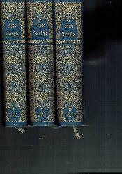 Biese,Alfred  Deutsche Literaturgeschichte Erster bis Dritter Band (3 Bände)