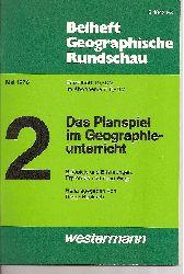 Beiheft Geographische Rundschau  Mai 1976