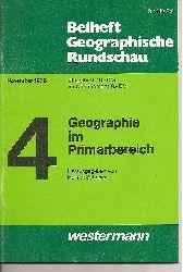 Beiheft Geographische Rundschau  November 1976