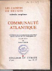 Cerych,Ladislav  Communaute Atlantique