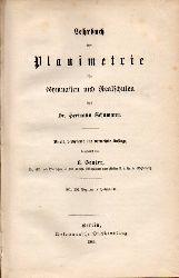Schumann,Hermann  Lehrbuch der Planimetrie für Gymnasien und Realschulen.2.bis 4.Teil