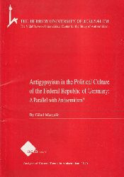 Gilad,Margalit  Antigypsyism in the Political Culture of the Federal Republic of
