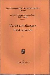 Meyer-Abich,Adolf (Hsg.)  Veröffentlichungen des Deutsch-Dominikanischen Tropenforschungs