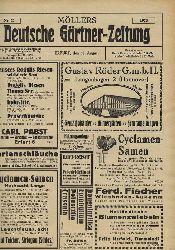 Möllers Deutsche Gärtner-Zeitung  Möllers Deutsche Gärtner-Zeitung 43.Jahrgang 1928, Heft 23