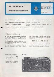 Telefunken GmbH  Fernsehservice Allbereichtuner MT 510 MT 510 A