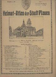 Plauen: Pohle,Paul  Heimat-Atlas der Stadt Plauen
