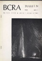 British Cave Research Association BCRA  Bulletin Number 1 and 2,August and November 1973 (2 Hefte)