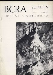 British Cave Research Association BCRA  Bulletin Number 3,4 and 6,February,May and November 1974 (3 Hefte)