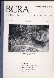 British Cave Research Association BCRA  Transactions Volume 5, Number 2. 1978 (1 Heft)