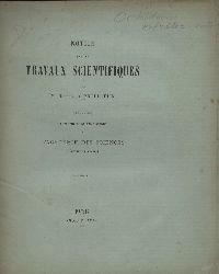 Prillieux,M.Edouard  Notice sur les Travaux Scientifiques