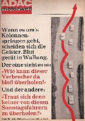 ADAC e.V.  ADAC Motorwelt 19.Jahrgang Heft September 1966