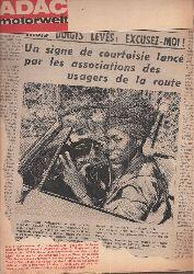 ADAC e.V.  ADAC Motorwelt 19.Jahrgang Heft Juni 1966