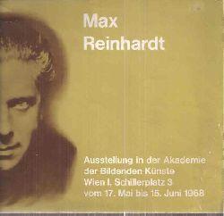 Akademie der Bildenden Künste Wien  Max Reinhardt
