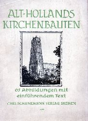 Hausmann,Manfred  Alt-Hollands Kirchenbauten