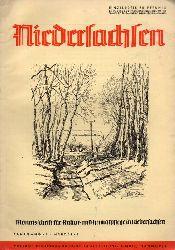 Niedersachsen Monatsschrift für Kultur-  Niedersachsen 45.Jahrgang 1940 Heft März