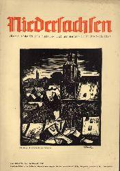 Niedersachsen Monatsschrift für Kultur-  Niedersachsen 46.Jahrgang 1941 Heft Januar